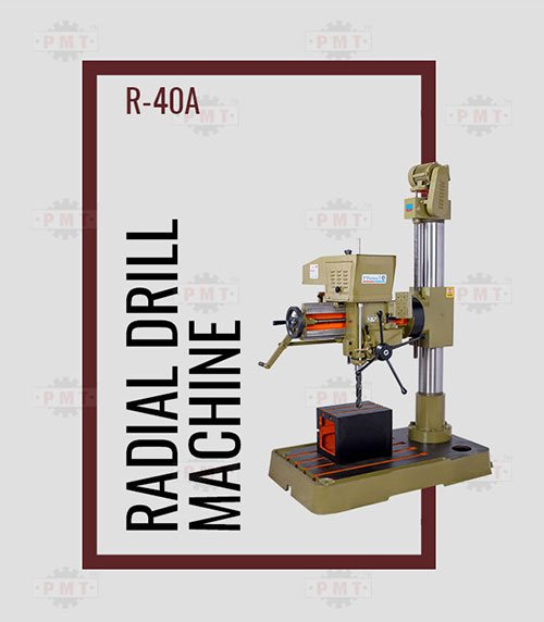 40mm Capacity Radial Drilling Machine Manufacturer in